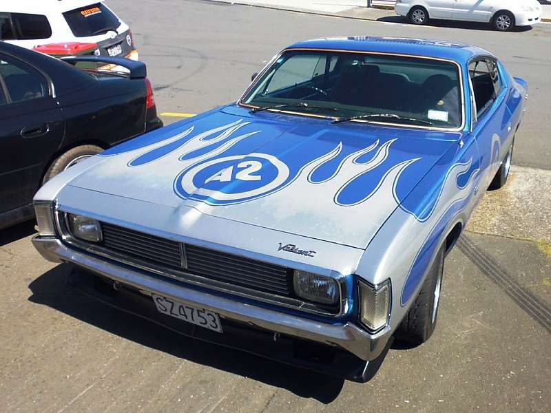 1973 Valiant Charger.