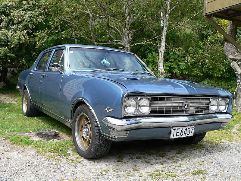 1969 Holden Premier.