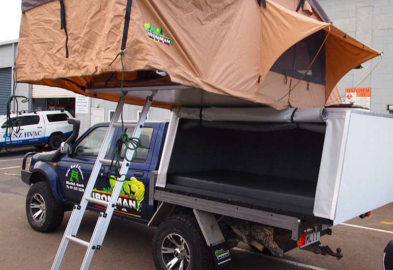 Ironman 4x4 roof top tent