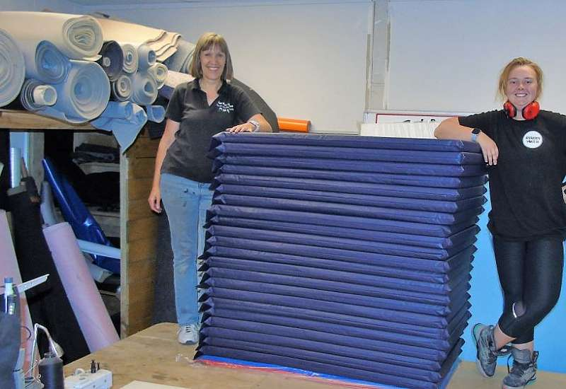 Canvas work and mats