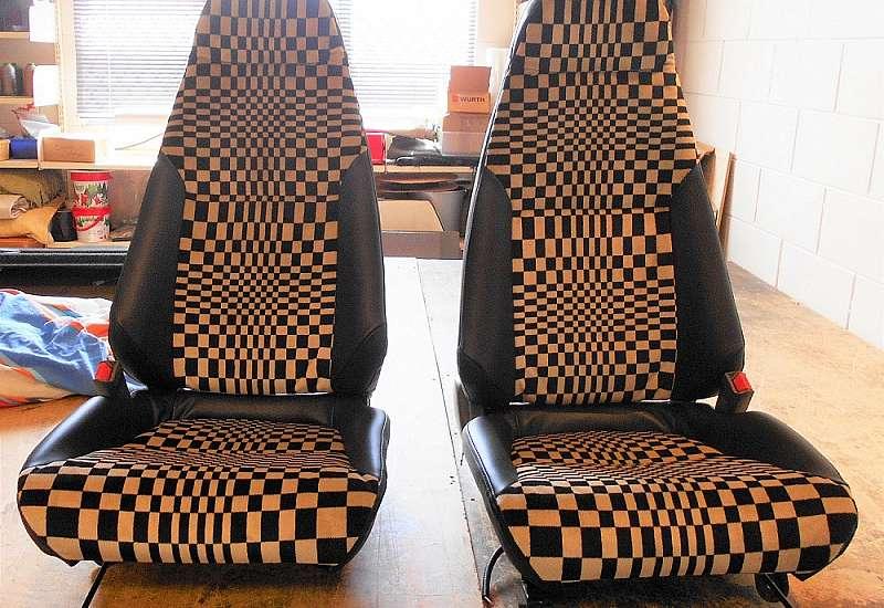 911 Porsche seats